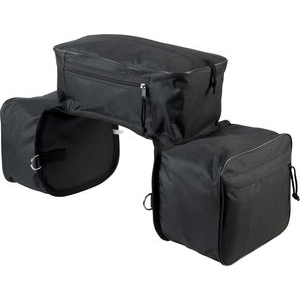 Triple saddle bags