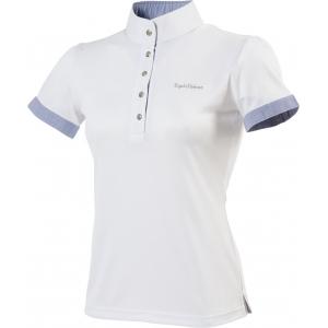 """EQUITHÈME """"Sky"""" polo shirt, korte mouwen"""