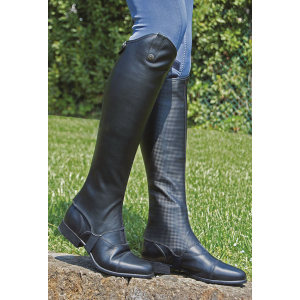 "C.S.O. ""Carbone"" synthetic half-chaps"