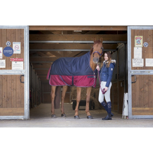 "EQUITHEME ""TYREX 1200 D"" Turnout rug with high neck"