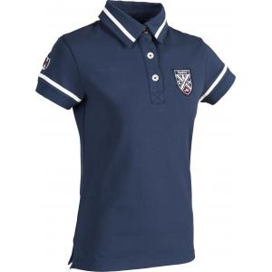 "EQUITHÈME ""Equit'M"" kurzärmeliges Jersey Polohemd"