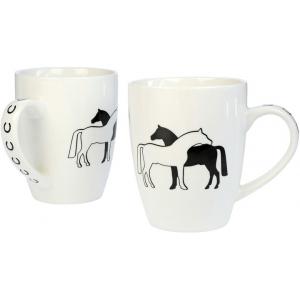 "Mugs ""Two Horses"""