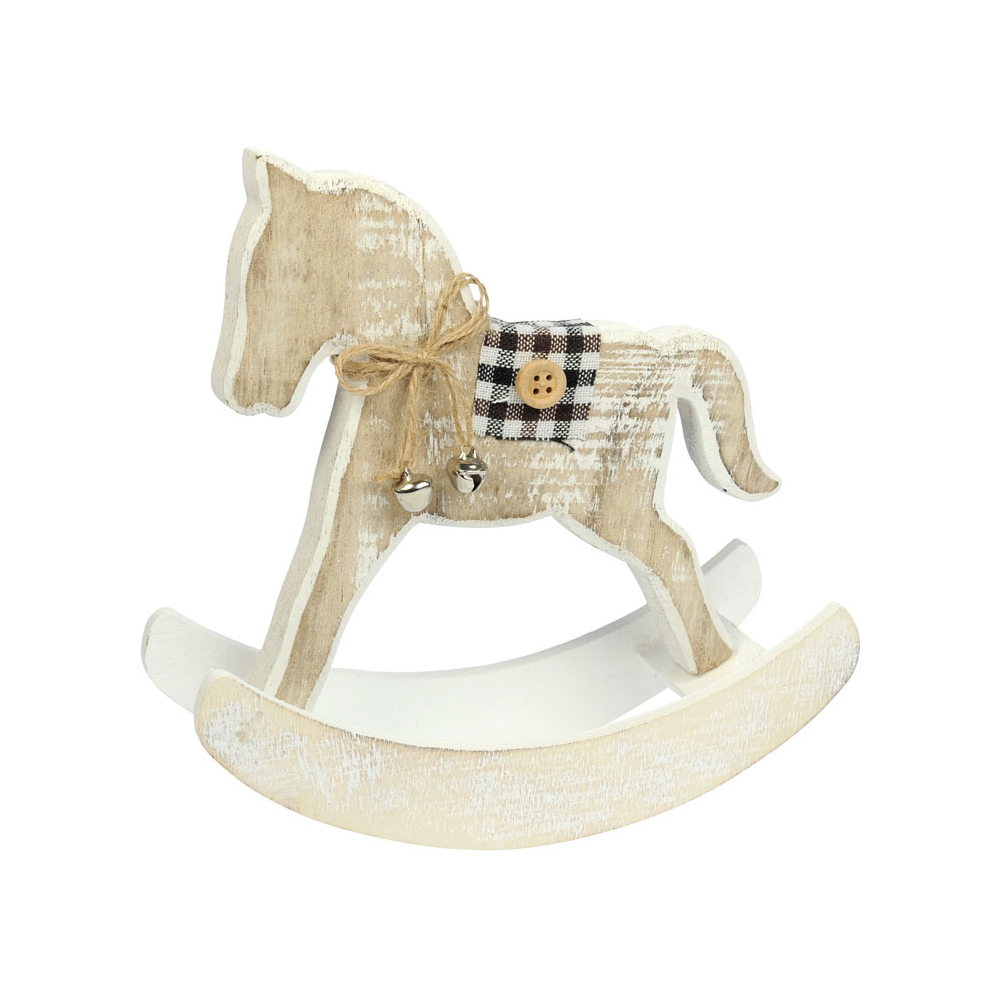 Cheval bascule woody noel padd for Cheval a bascule exterieur