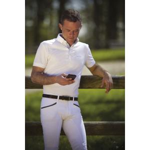 EQUITHÈME Mesh Polo Shirt -...