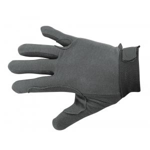 Handschoenen, rug fijn katoen, berubberde handpalm