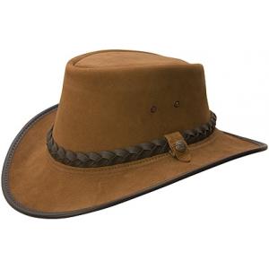 "Chapeau B.C. HATS ""Bac Pac"", cuir lisse"