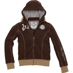 "EQUITHÈME ""CSI 5*"" hooded polar fleece jacket"