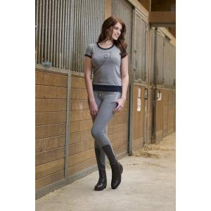 Tee-shirt EQUITHEME Jump Style - Femme