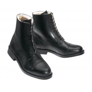 Boots Norton à lacets fourrées