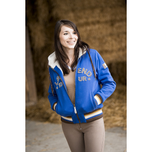 "EQUITHÈME ""CSI 5* Tour"" hooded sweatshirt"