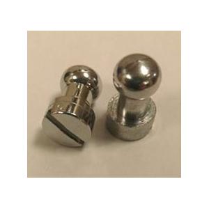 Gepolijst zilveren gogue verbindingsstuk