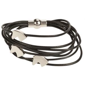"Bracelet ""3 Horse Heads"""
