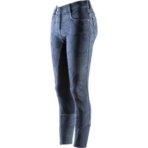 """EQUITHÈME """"Cachemire"""" jeans, """"EKKITEX"""" seat"""