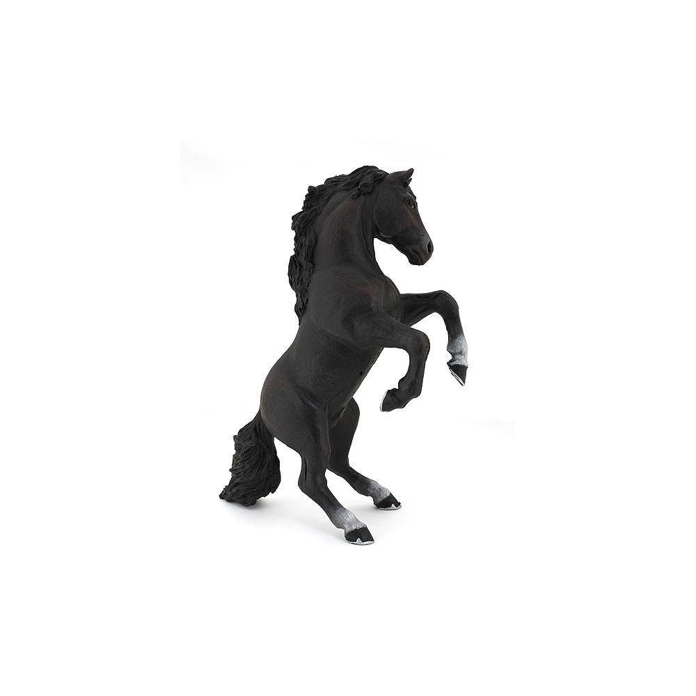 Cheval cabré Papo noir