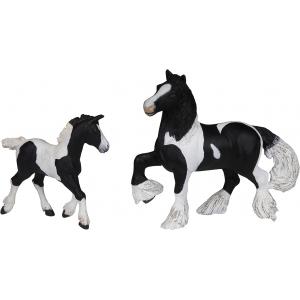 PAPO Steigerend, wit paard