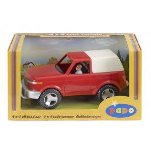 Geländewagen und Fahrer PAPO