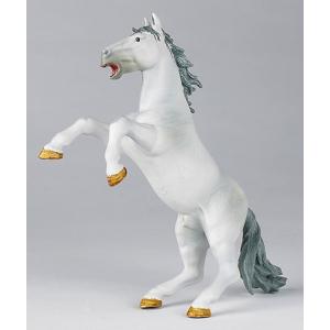 Cheval cabré blanc Papo