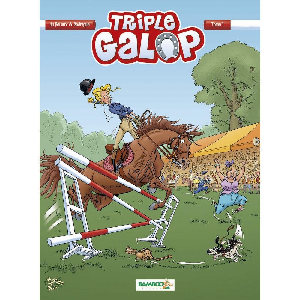 Triple Galop - BD : Tome 1