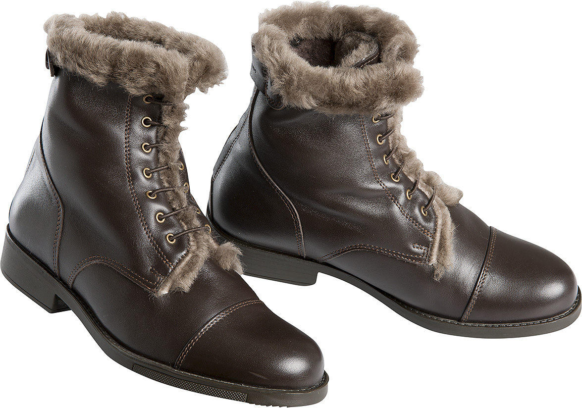 90fcbe4dfe72 Boots EQUITHÈME Laine - BOOTS CUIR - Padd