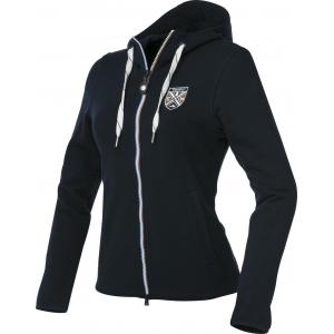 Sweat EQUITHÈME Coton zippé - Femme