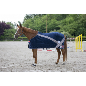 EQUITHÈME Authentic polar fleece zweetdeken