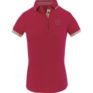 EQUITHÈME Jersey polo shirt, short sleeves - Ladies