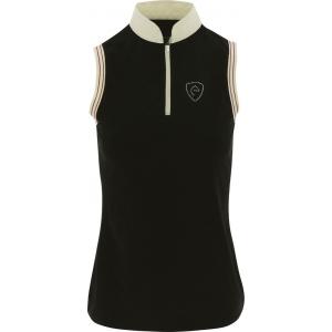 EQUITHÈME Jersey Polo Shirt, ärmellos - Dames