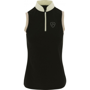 EQUITHÈME Jersey polo shirt, sleevelesss - Ladies