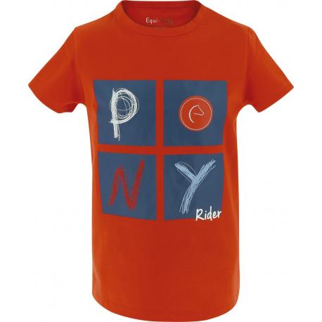 T-Shirt Equi-Kids Pony Rider - Enfant