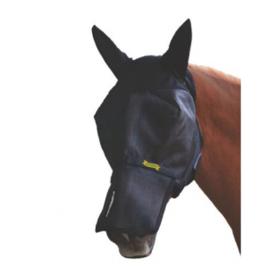 Fly mask nez amovible
