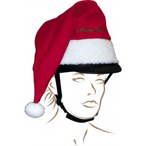 Kerstmuts voor helm