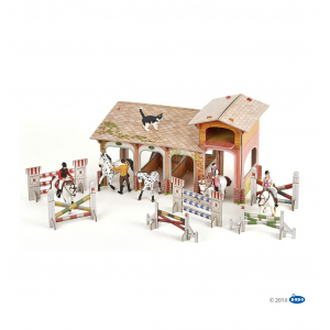 Le poney club (carton à construire) PAPO