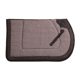 """Repukhara"" cotton/leather saddle pad"