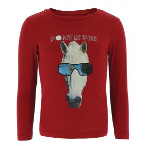T-shirt Equi-Kids Pony Rider Hologramme - Enfant