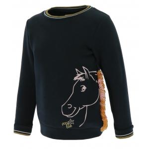 EQUI-KIDS sweatshirt PonyLove - Mädchen