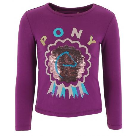 T-shirt Equi-Kids PonyLove à sequins - Enfant