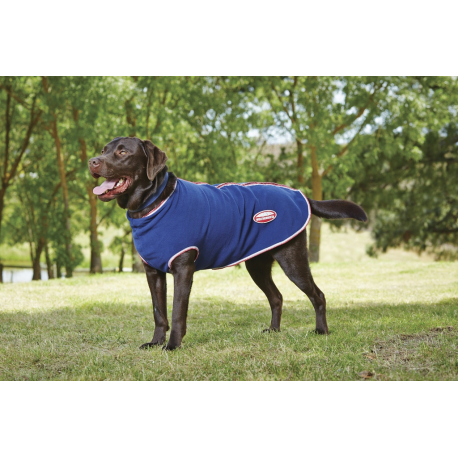Weatherbeeta Fleece Dog Rug: Rug Weatherbeeta Fleece Zip For Dogs