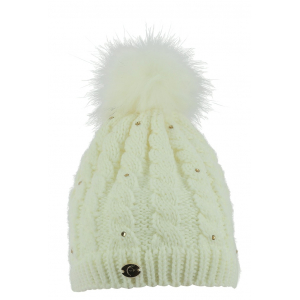 Knitted Bobble Hat EQUITHÈME Glitter