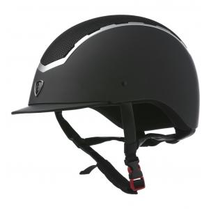 EQUITHÈME Helmet with mesh insert