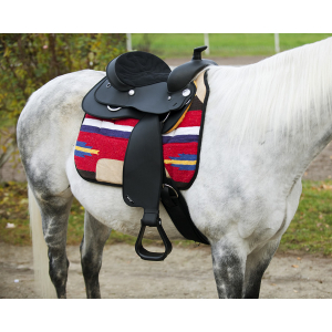Synthetic western saddle WINTEC
