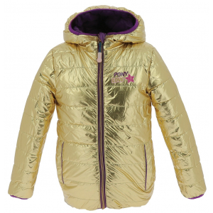 Equi-Kids PonyLove Reversible padded jacket with hood - Child