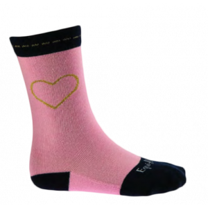 "Chaussettes EQUIKIDS ""Coeur"""