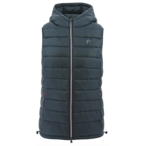 EQUITHÈME Padded Waistcoat with hood - Men