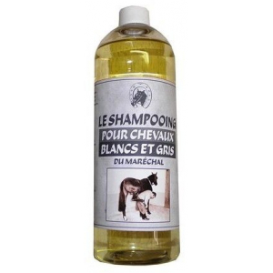 The Shampoo du maréchal for White and Gray Horses