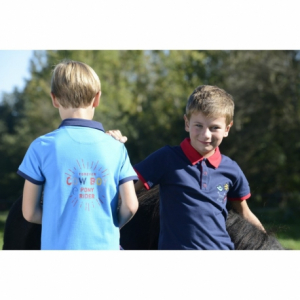 Equi-Kids Cowboy Polo Shirt