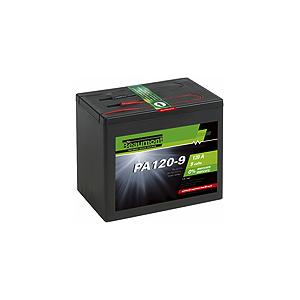 Alkalische Batterie/Brennstoffzelle 120 A - 9 V