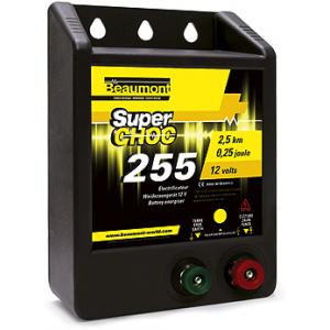 """""""Superchoc"""" 255 schrikdraadapparaat voor 12 V accu"""
