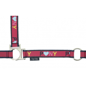 Equi-Kids Pegasus head collar + lead rope