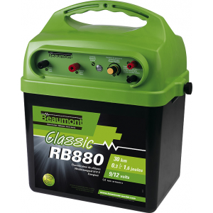 """Classic"" RB 880 9 V/12 V Battery energiser with solar charging facility"