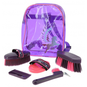 "EQUI-KIDS ""Pégase"" grooming kit"